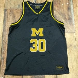 Steve and Berry's Michigan Wolverines Bball Jersey